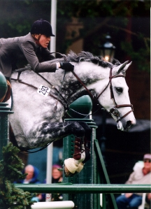Phoenix Park and Michelle Parker competing in the International Ring at Spruce Meadows