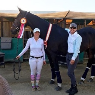 Katie Rotunno and Modena completed Blenheim's Fall Tournament with a Reserve Champion in the USHJA Adult Jumper Zone 9/10 Championship.